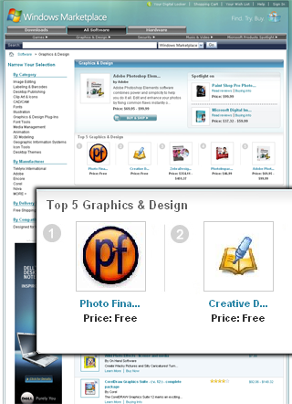 Windows Marketplace Top 5